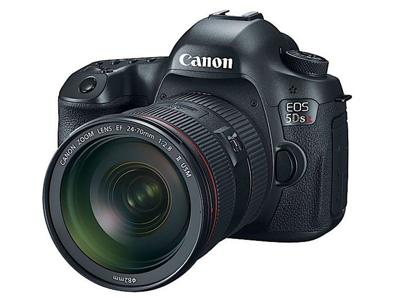 Canon 5DSR 45Front