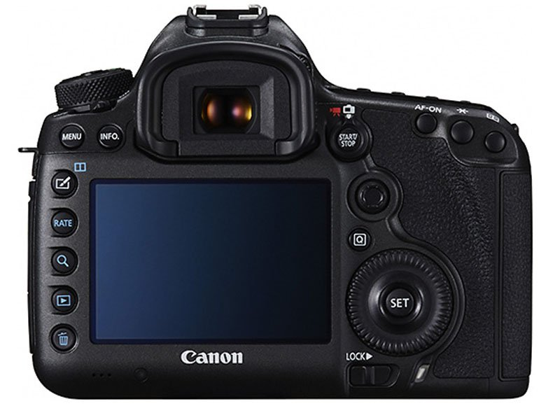 Canon 5DSR Back