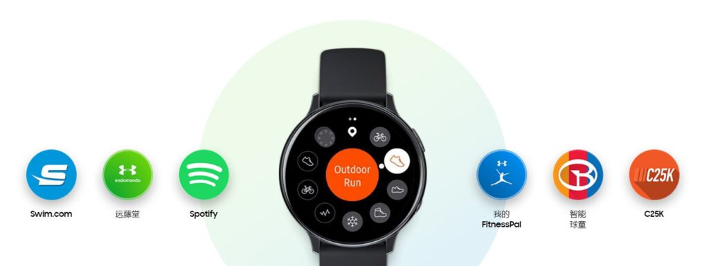 Samsung Galaxy Watch Active 2 fitness